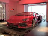 Millionaires park supercars in their