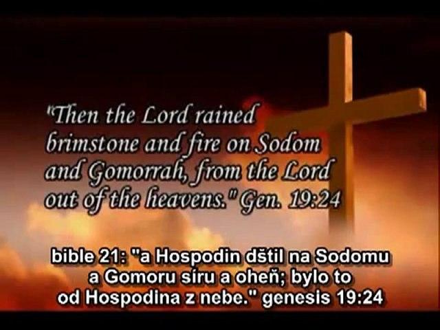 Zničení Sodomy a Gomory, titulky