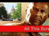 David Letterman – Bruce Willis in Die Hard 5