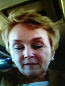 Pauline Marois chef du Parti Québécois en entrevue avec Michelle Blanc
