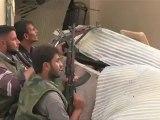 Syrie: combats entre rebelles et armée de Bachar al-assad à Alep