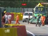 GP2 2012 Spa-Francorchamps Big Crash Melker