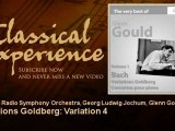 Glenn Gould plays Bach : Variations Goldberg : Variation 4 - ClassicalExperience