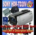 Sony HDR-TD20V High Definition Handycam 20.4 MP 3D Camcorder with 10x Optical Zoom and 64 GB Embedded Memory + Extended Li...
