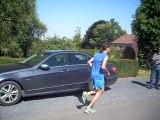 Arrivée du jogging des pépinières de Lesdain