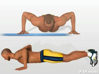 Training Pomp Pectoral Chest Muscles - Explosive Push UP