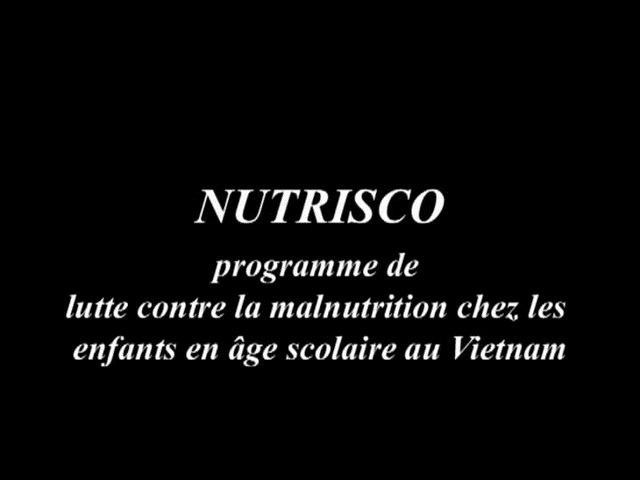 Nutrisco, Programme de lutte contre la malnutrition chez les enfants en âge scolaire au Vietnam