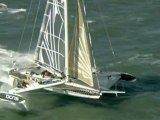 Advanced sailing boat breaks speed record in San Francisco