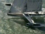 Record de l'Hydroptère DCNS à San Francisco.