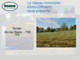Achat Vente Terrain  Aix les Bains  73100 - 700 m2