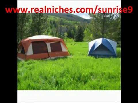 Eureka! Sunrise 9 -Tent
