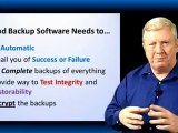 Data Backup FAQ 01 - What is the best backup software for Small Businesses?