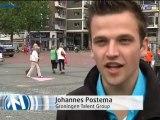 Actie op Grote Markt om Floriade naar Groningen te krijgen - RTV Noord