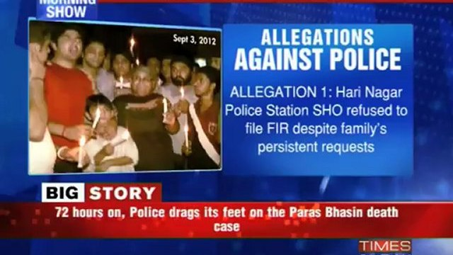Paras Bhasin Murder: Hard Facts VS Suicide Theory
