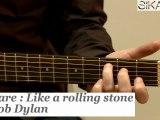 Comment jouer Like a rolling stone de Bob Dylan ? - HD