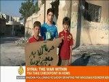 Rebels struggle to break government siege of Homs