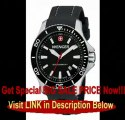 Wenger 641.103 Mens Sea Force Swiss Watch, Black, Silicone Best Price