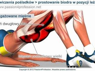 Ćwiczenia na pośladki i uda - jędrne pośladki SZYBKO - ćwiczenia biodra