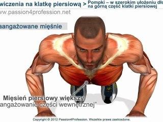 Pompki -- w szerokim ułożeniu dłoni na górną część klatki piersiowej