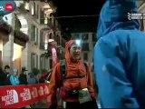 UTMB Km 54 passage aux Contamines 2/ arrivée CCC ULTRATRAIL TV 2012