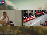 UTMB  Samedi 1/09 km 85 à l'arrivée ULTRATRAIL TV 2012