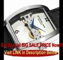 Stuhrling Original Men's 303.33152 Classic Millenia Ravine Mechanical Silvertone Watch For Sale