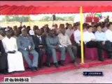 Inauguration du centre de démonstration des techniques agricoles de Kombé