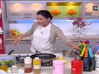 recette choumicha briouates au foie purée avocat