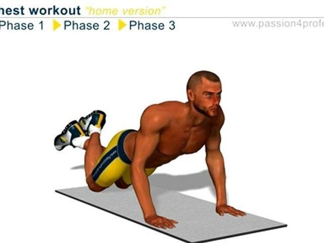 胸肌锻炼 - 胸肌训练 - 胸部锻炼 - 胸肌锻炼
