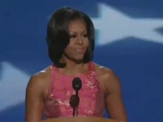 Silences : Michelle Obama Speech to the 2012 Democratic National Conven