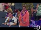 """Usa, convention democratici: la faccia """"colorata"""" di Charlotte. Cappelli, spille e ghirlande hawaiane per lanciare l'Obama-bis"""
