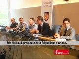 Tuerie à Chevaline: le procureur revient sur le déroulement des faits, selon les premiers éléments de l'enquête