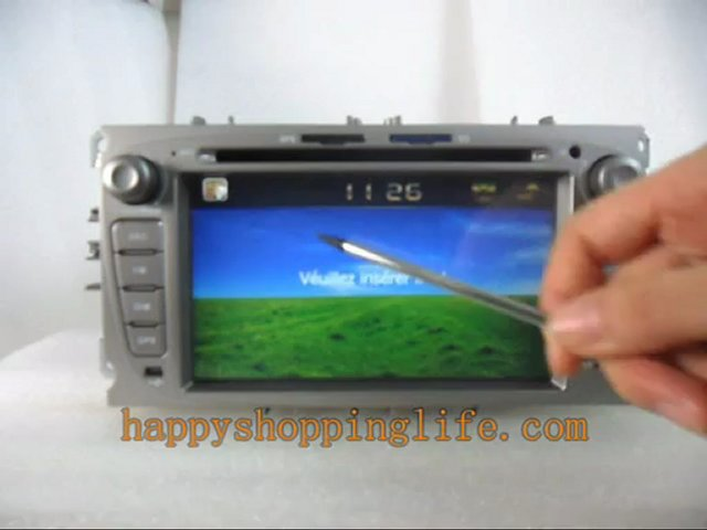 Ford lecteur DVD Auto, Ford centre multimédia, Autoradio pour Ford, Autoradio GPS Ford