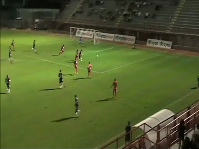 ΑΕΚ Λάρνακας (φιλικό) Ν. Σαλαμίνα - ΑΕΚ 0-1 (Α' ημίχρονο)