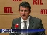 """Tuerie des Alpes: """"aucune faute"""" des gendarmes, selon Valls"""