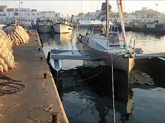 C329: Sfax arrivé au port de pêche