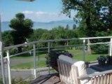 Evian villa récente 4 chambres avec sous sous sol terrain terrasses vue lac