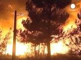 Los incendios forestales no cesan en Portugal