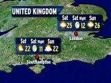 UK Weather Outlook - 09/07/2012