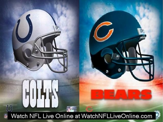 watch nfl 2012 Indianapolis Colts vs Chicago Bears live streaming