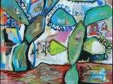 Christine Garuet - Artiste peintre - Extrait documentaire