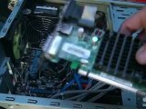 Installer un disque dur et un processeur dans un ordinateur