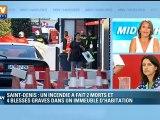 """Saint-Denis : les personnes seront relogées """"dès ce soir"""", assure C. Duflot"""
