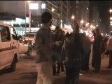 وقفة لشباب 6 ابريل بالإسكندرية للمطالبة بالافراج عن المحاكمين عسكريا