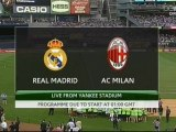 2012 Amical REAL MADRID AC MILAN 5-1, le 9 août 2012