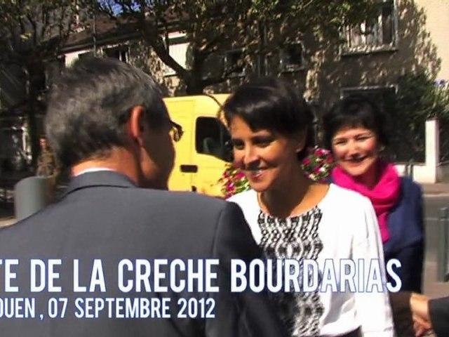 Visite de la crèche Bourdarias