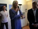Marine Le Pen à la braderie d'Hénin-Beaumont