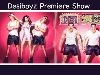 Hot Celebs at Desiboyz Premiere Show