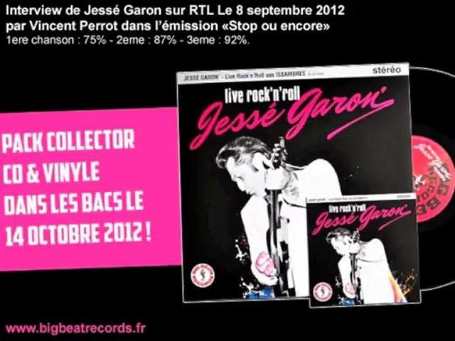 Interview de Jessé Garon sur RTL par Vincent Perrot