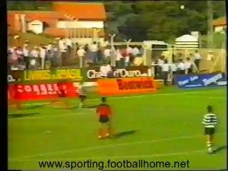 Penafiel - 2 Sporting - 5 de 1990/1991